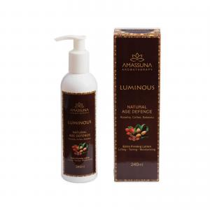 natural anti-ageing body lotion