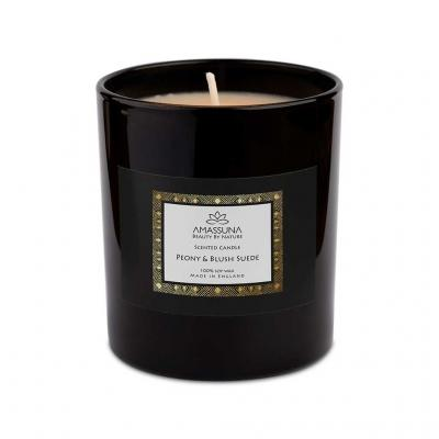 Peony & Blush Suede <br>Soy Candle 3