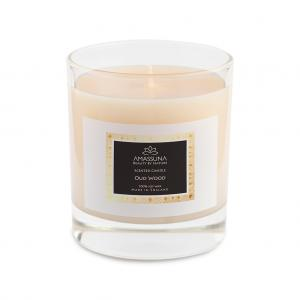 Oud Wood Soy Candle 1
