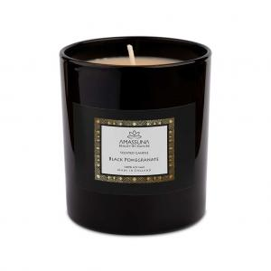 Black Pomegranate Soy Candle 1