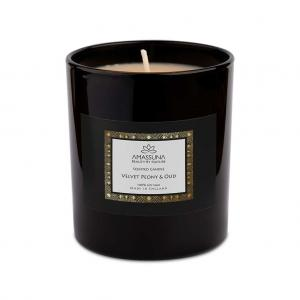 Velvet Peony & Oud Soy Candle 1